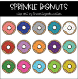 Sprinkle Donut Clip Art