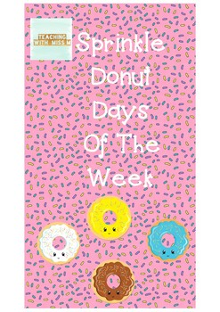 Sprinkle Donut Days Of The Week