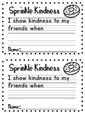 Sprinkle Kindness Writing Activity