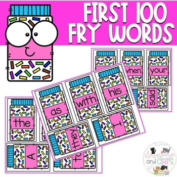 Sprinkle Sight Words Spelling Review Game