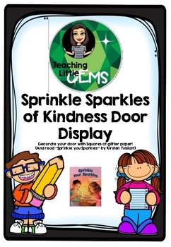 Sprinkle Sparkles of Kindness Door Display