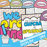 Sprinkled with Kindness {Classroom Cupcake Display}