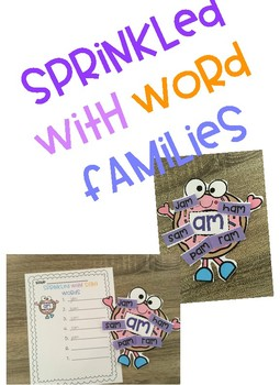 Sprinkled with Word Families