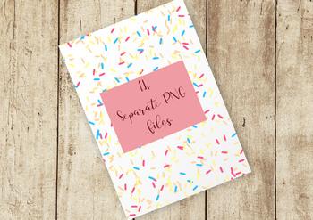 Sprinkles Clip Art Set, Separate PNG Files, High Resolution.