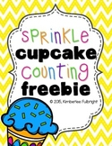 Sprinkles Cupcake Counting Freebie