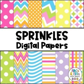 Sprinkles Digital Paper