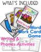 Word Work, Reading Writing & Crafts - ELA / Phonics - Sprinkling Through Spring