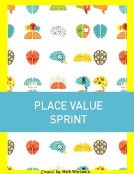 Sprint Fluency - Decimal Expanded Form