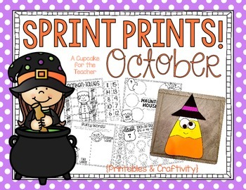 Sprint Prints! October {Printables & Craftivity}