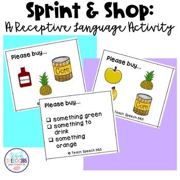 Sprint & Shop: A Receptive Language Activity