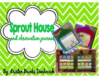 Sprout House and Bean Observation Journal