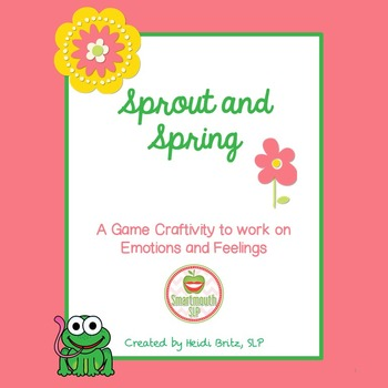 Social Skills:  Emotions craftivity Spring