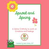 Social Skills Emotions Craftivity Spring