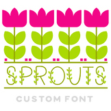 Sprouts Color Font!