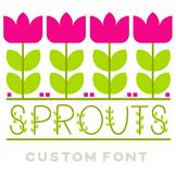 Sprouts Color Font!