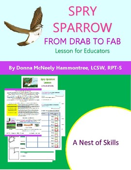 Spry Sparrow: From Drab to Fab - A Nest of Skills