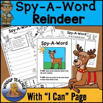 Reindeer Words