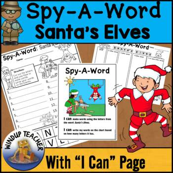 Santa's Elves Words