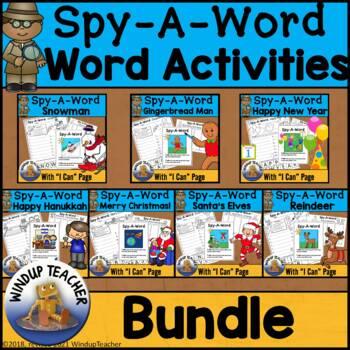 Spy-A-Word: WINTER BUNDLE