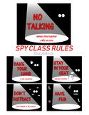Spy Class Rules