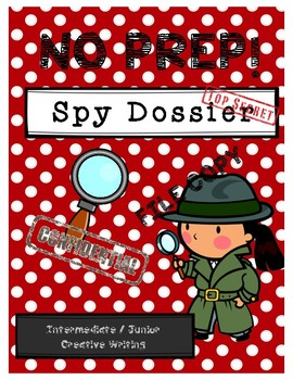 Spy Dossier - Intermediate and Junior Creative Writing