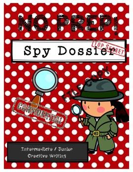 Spy Dossier - Intermediate and Junior Creative Writing