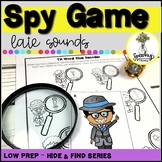 Spy Game : Late Sounds : Low Prep Articulation Activity