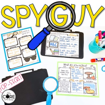 Spy Guy: Interactive Read-Aloud Lesson Plans and Activities