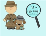 Spy Guy Y+Suffix Smartboard intro sort Green SA 9