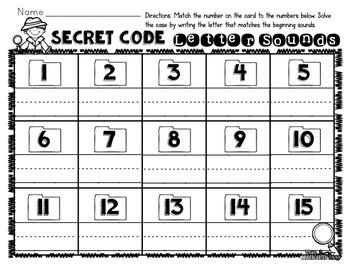 Spy Headquarters Center Activities [Interactive Classroom]