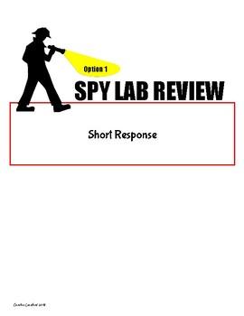 Spy Lab ELA Review/Test Prep