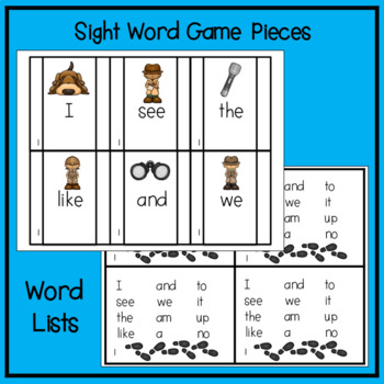 Spy Rescue - Mission:  Sight Words (Two)