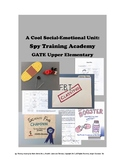 Spy Training Legends - Engaging GATE Social Emotional Lessons