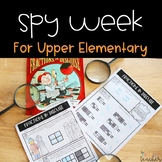 Mystery Week Unit for Upper Elementary