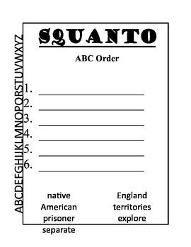 """Squanto"""