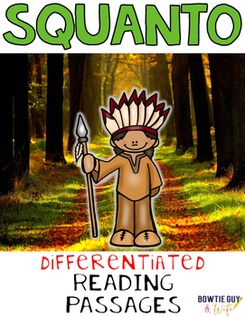 Squanto Differentiated Reading Passages