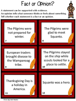 Squanto: Friend, Guide, Teacher - A Reading and Writing Resource