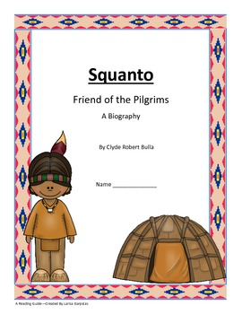 Squanto - Friend of Pilgrims  Book Study