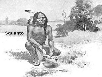 Squanto - Life Story - Power Point - History Facts Pilgrim