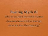 Squanto PowerPoint: Native American Backstory