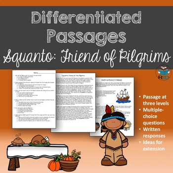 Squanto: Passage and Questions