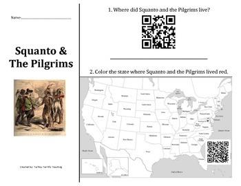 Squanto & The Pilgrims QR Code Hunt