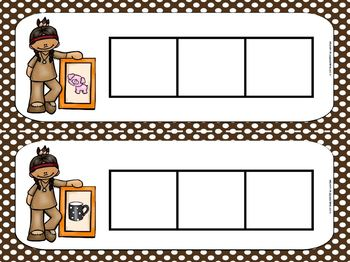 Squanto's Sound Boxes:  LOW PREP American Indian Themed Sound Boxes Activity