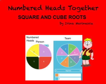 Square And Cube Roots Numbered Heads Together