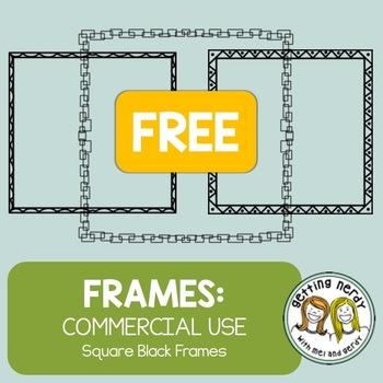 Square Frames / Borders FREE