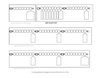 Montessori Square Chains Printable