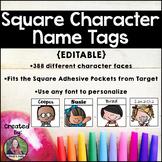 Square Character Name Tags Melonheadz