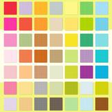 Square Clipart for Invitation Planner, Square Scrapbook