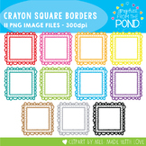 Square Crayon Frames