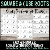Square & Cube Root Fluency-Square & Cube Puzzle